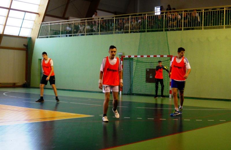 Gminny Turniej Piłki Nożnej dla uczniów gimnazjum