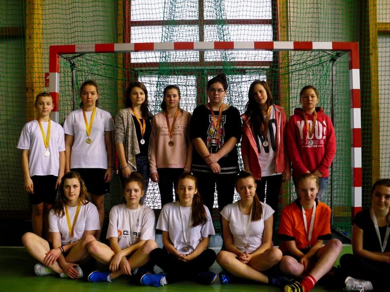 Gminny Turniej Piłki Ręcznej dla uczniów gimnazjum